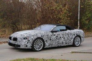 Новото BMW Серия 8 Cabrio (2020): Първи изображения