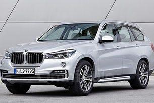 Снимаха седемместния кросоувър на BMW за първи път