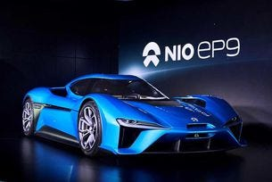 NextEV представи електромобил с 1360 конски сили