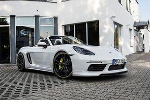 Techart Porsche 718 Boxter: Четири цилиндъра и 400 к.с.
