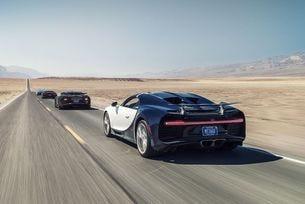 Bugatti Chiron: Интензивни тестове в Долината на смъртта
