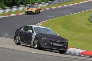 Kia GT: Спортно купе с четири врати от 2017