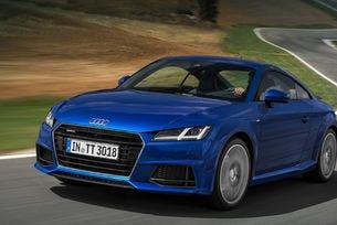 Audi TT съвместява дизел с двойно предаване