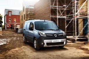 Renault Kangoo Z.E. получи нова по-мощна батерия