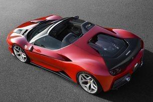Ferrari направи ексклузивния модел J50 за Япония
