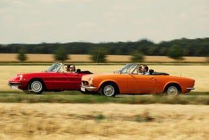 Италианска класика І: Alfa Romeo Spider и Fiat 124 Sport Spider