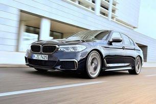 BMW M550I xDrive (G30): 4,4-литров V8 битурбо с 462 к.с.