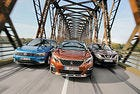 Трибой: Nissan Qashqai, Peugeot 3008 и VW Tiguan
