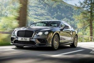 Bentley представи най-бързия си четириместен модел