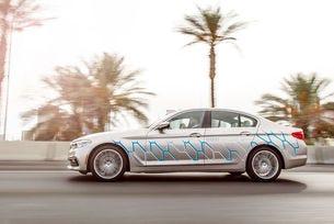 BMW Серия 5 в Лас Вегас с персонален копилот