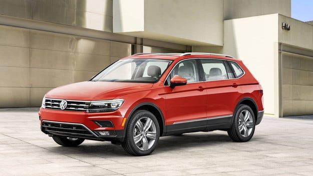 Volkswagen Tiguan стана седемместен