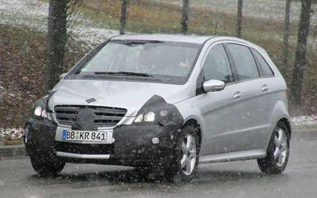 Разкрито: Mercedes-Benz