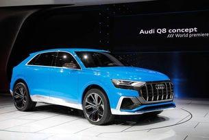 Audi показа в Детройт големия  кросоувър Q8