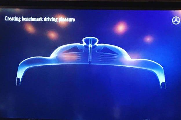 Mercedes измисли името на хипер автомобил с 1000 к.с.