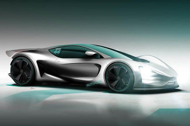 AMG дала имя новому гиперкару сагрегатом отболида F1