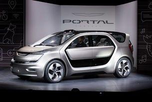 Chrysler Portal разкрива бъдещето на минивана