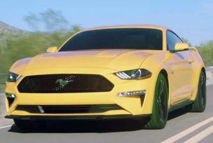 Показаха на видео обновения Ford Mustang
