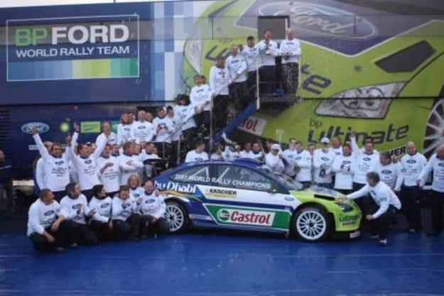 BP-Ford WRT