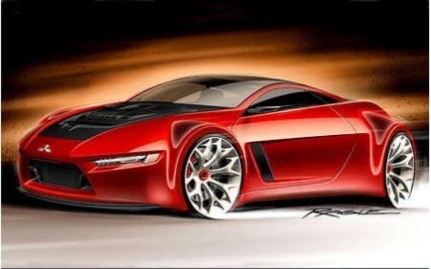Mitsubishi Concept RA: Екологичен спортист