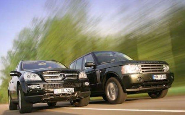 Mercedes GL 420 CDI vs. Range Rover TDV8