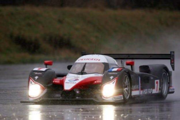 Peugeot: Пилотска линия