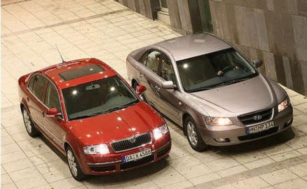 Skoda Superb vs. Hyundai Sonata