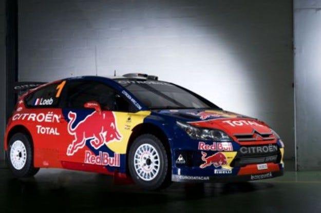 Citroen C4 WRC Red Bull