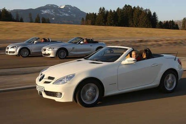 Audi TT, BMW Z4 & Mercedes SLK