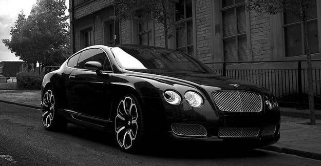 Project Kahn Bentley Continental GTS Black Edition
