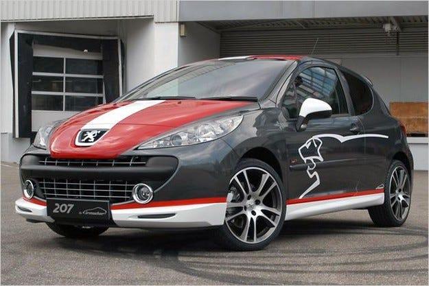 Irmscher Peugeot 207 & 4007