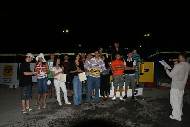 Dunlop Karting Cup 2008 - финалът