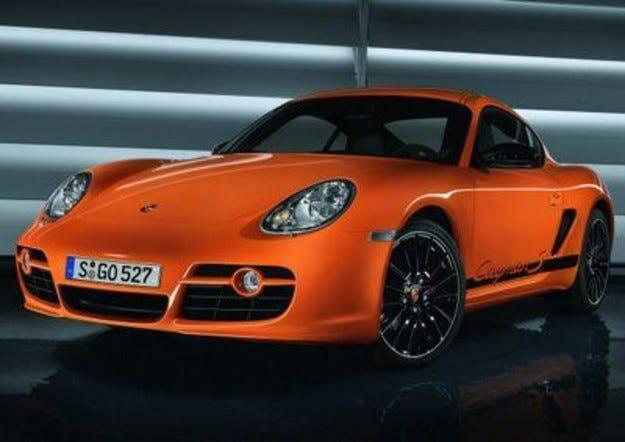 Cayman S Sport & Porsche Design Edition 2