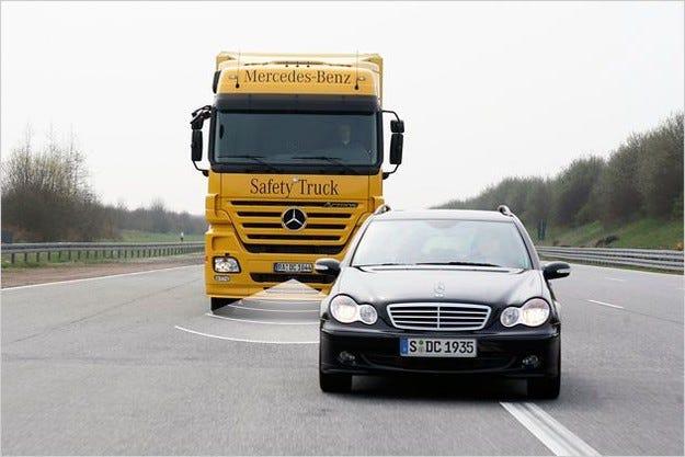 Mercedes Active Brake Assist