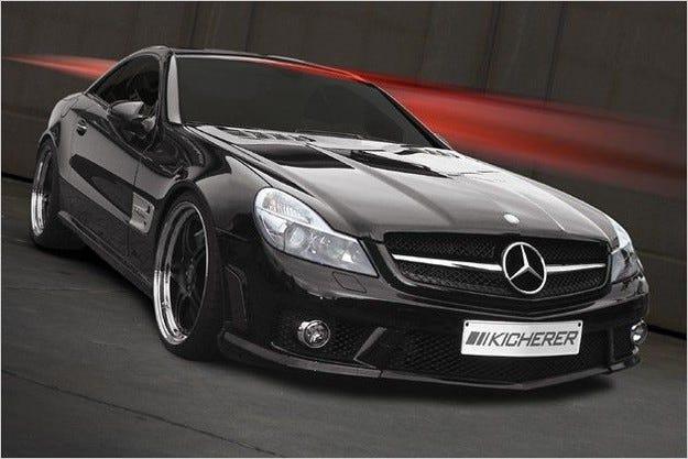 Kicherer Mercedes SL 63 AMG