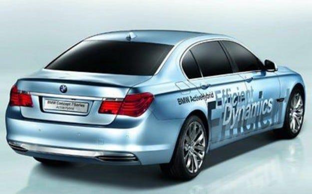 BMW 750i Active-Hybrid