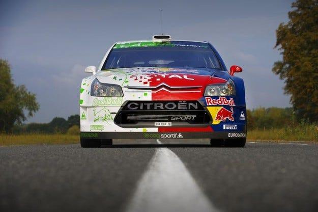 C4 WRC Hymotion4