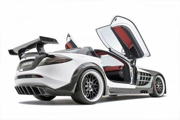 Hamann Volcano Mercedes Mclaren SLR