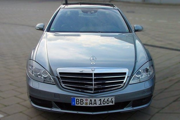 2009 Mercedes S-класа