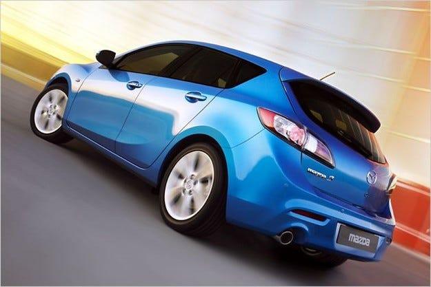 Mazda 3 хечбек