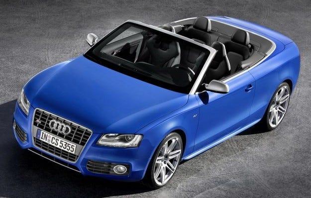 Audi A5 & S5 кабриолет