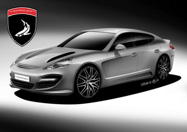 9ff, Top Car и Cardi: Porsche Panamera