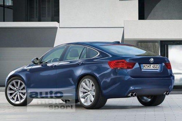 BMW пета серия GT