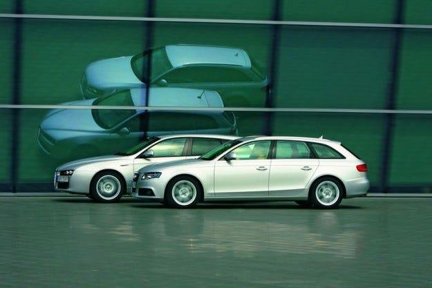 Alfa 159 Sportwagon срещу Audi A4