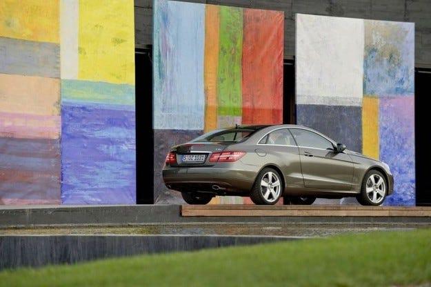 Mercedes E-класа Coupe