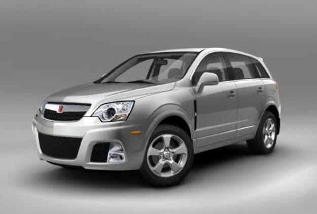 Saturn Vue: Red Line & Green Line hybrid
