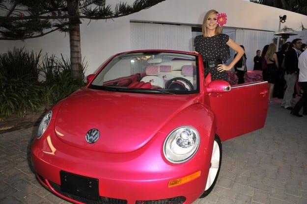 Barbie VW Beetle Convertible