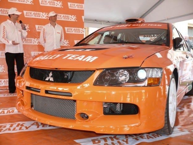 БТК ADSL Rally Team