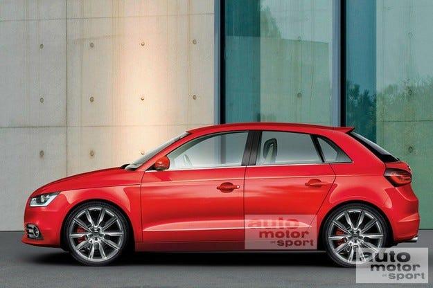 Audi A1, A2, A3 и City