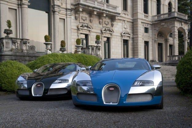 Bugatti Veyron 100 години
