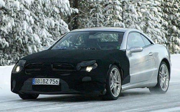 Mercedes SL-Spy